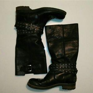 Geox winter boots moto/ biker style